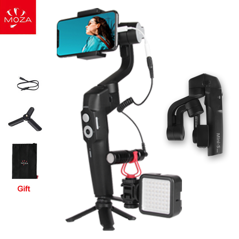 sports shoes 083cb 8e6bd US $79.0 |MOZA MINI S Mini S 3 Axis Handheld Gimbal Phone Stabilizer for  iPhone 8 Gopro hero 7 6 5 YI Action Cameras PK dji osmo mobile 2-in  Handheld ...