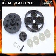 1/5 rc car racing parts,55T/19T High Speed Metal Gear Set fit HPI Rovan Baja 5B/5T/5SC Truck