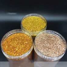 500 г ПЭТ высокотемпературный золотой лук порошок флэш-порошок, флэш-кусок диатома грязи Яркий порошок и декоративный золотой чип вспышки