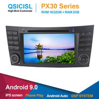 IPS 7 Android 9.0 car radio multimedia player for Mercedes Benz W211 (2002 2008) 2 din car head unit dvd gps navigation stereo