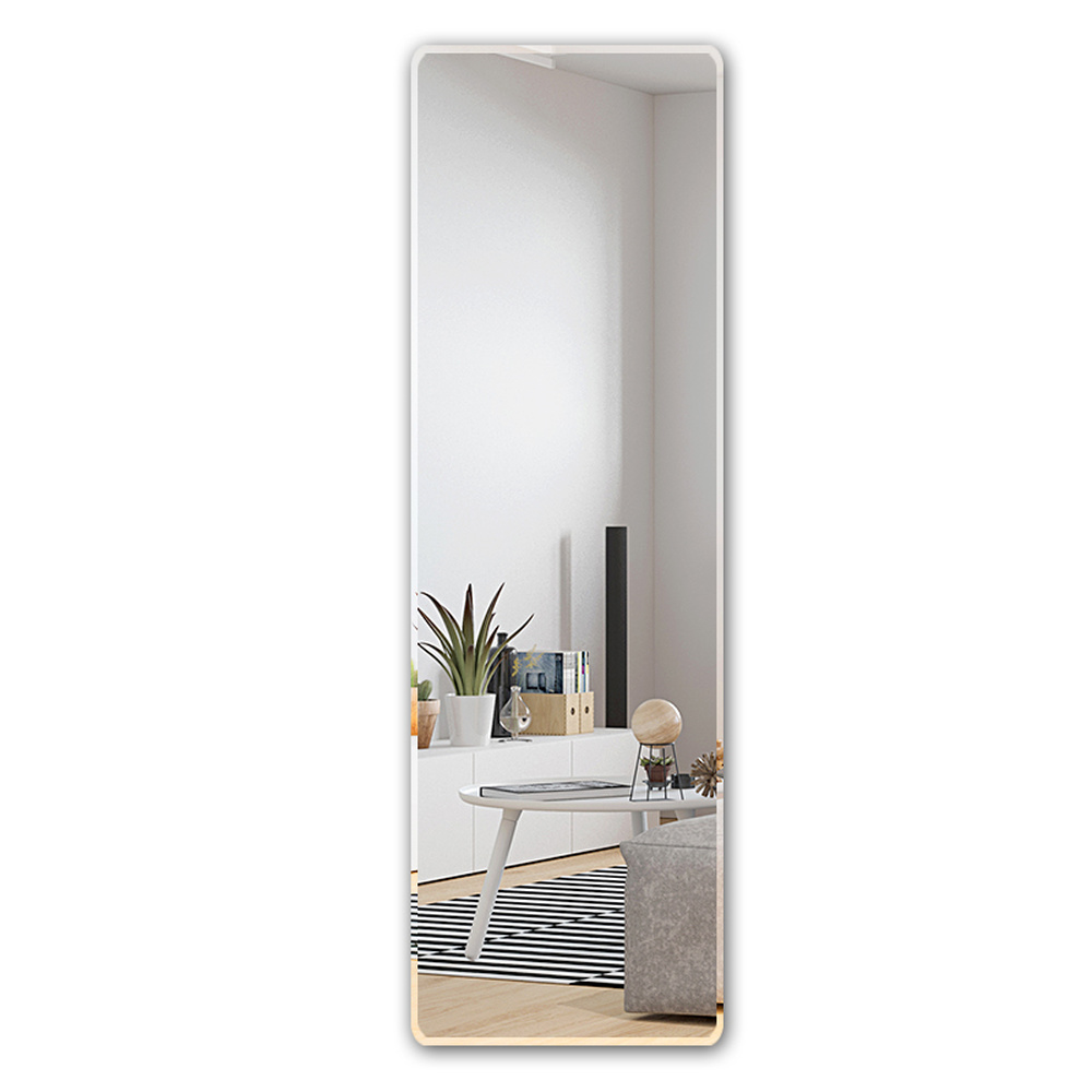1f104e28a72e US $278.0  Floor mirror full length dressing mirror wall hanging paste  simple frameless mirror bedroom wardrobe fitting mirror wx8241113-in Bath  ...