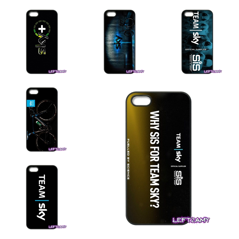 Team Sky Pro Cycling logo Hard Phone Case Cover For iPhone 4 4S 5 5C SE 6 6S 7 8 Plus X 4.7 5.5 iPod Touch 4 5 6