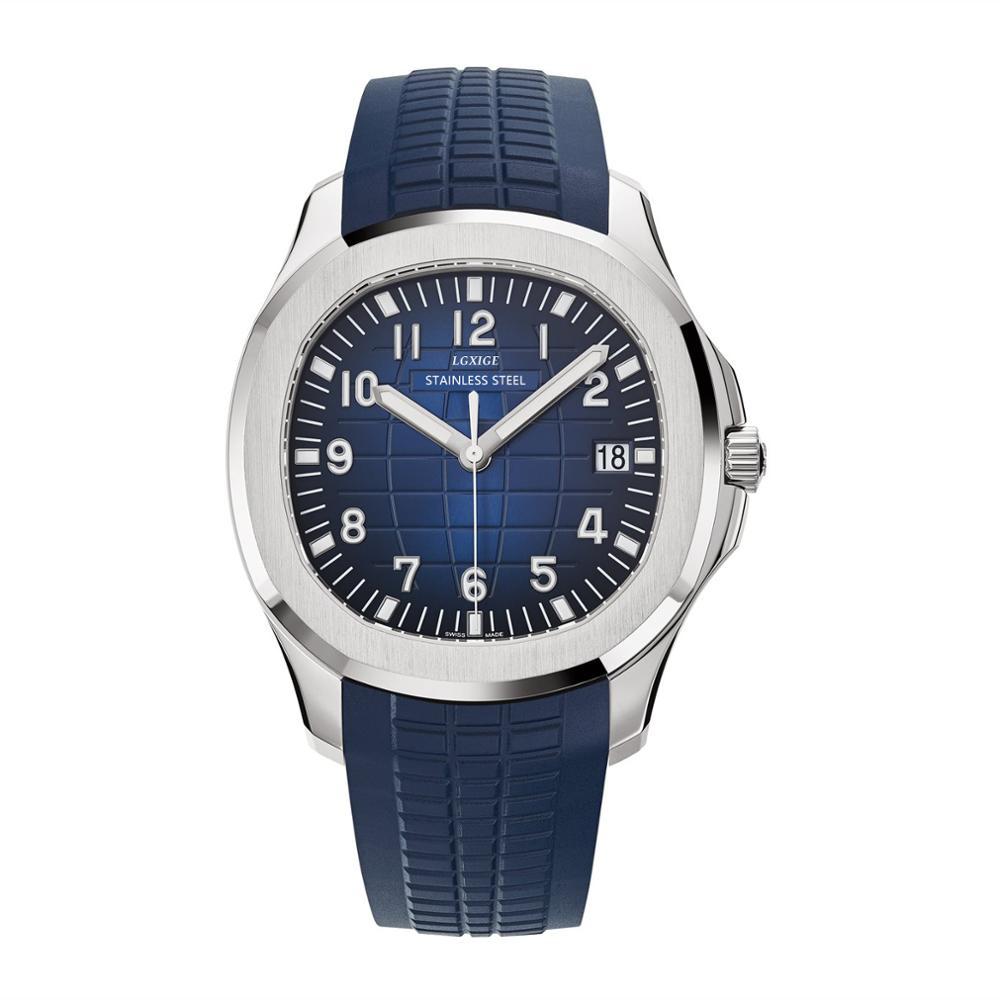 Montre de sport pour hommes bracelet en caoutchouc de mode Quartz hommes montres marque de luxe Aquanaut pp horloge Relogio Masculino patek montre-bracelet 2019