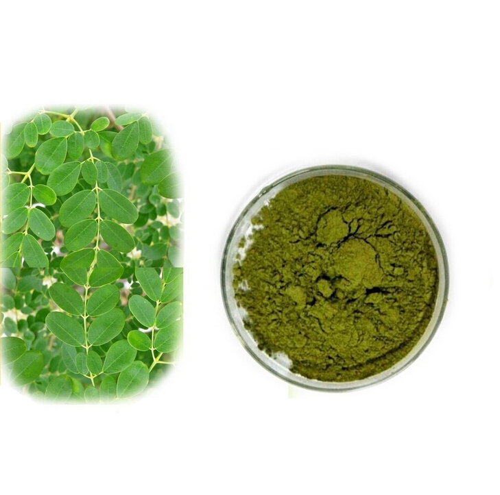 Free Shipping 1kg bulk packing High quality herbal health care supplement Moringa powder extract 98% 5 htp 5 hydroxytryptophane herbal supplement