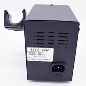 Image 3 - 700W 858D ESD 납땜 역 LED 디지털 BGA 재 작업 솔더 스테이션 뜨거운 공기 총 + 60W 전기 철 도구 세트