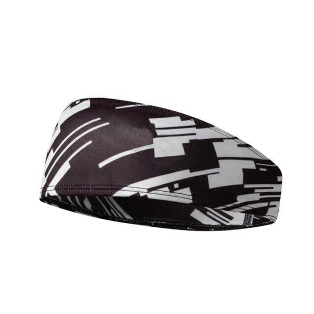 Men/Women Headband Multi-function Anti-sweat Belt Sports Sweat Head Band Hair Band Sweatband Tennis Basketball Yoga Headband 5