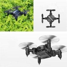 Mini RC Quadcopter 2.4 GHz 6-Axis Gyro 3D Hover Drone FPV WIFI Caméra Cadeau (Avec Caméra et Air Pression Hover)