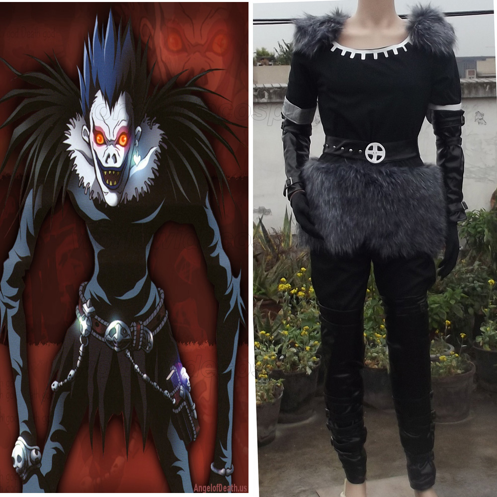 Death Note Shinigami Ryuk Cosplay Costume Free Shipping for Christmas