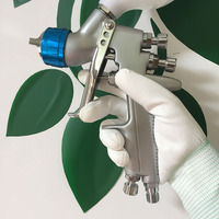 SAT0080 air paint sprayer machine air compressor airbrush gun pneumatic tools for car painting air spray guns for painting cars