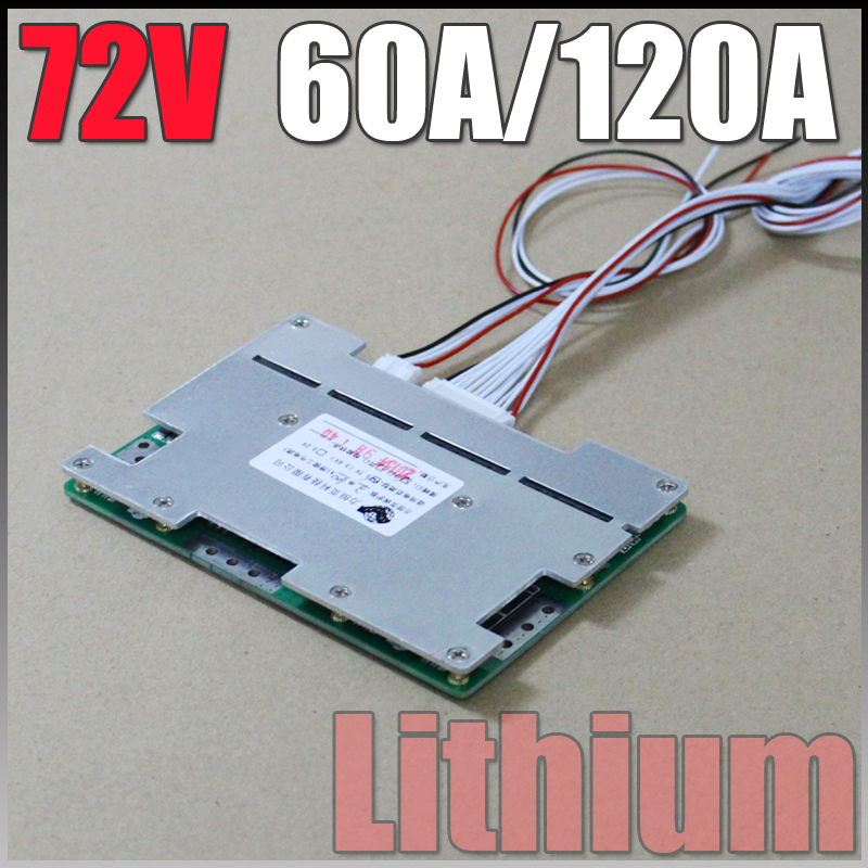 72V BMS 60A/120A Electric bicycle Lithium ion Battery BMS 20S 84V 3000W Battery Pack BMS System Balance PCB Free Shipping free customs taxes super power 1000w 48v li ion battery pack with 30a bms 48v 15ah lithium battery pack for panasonic cell