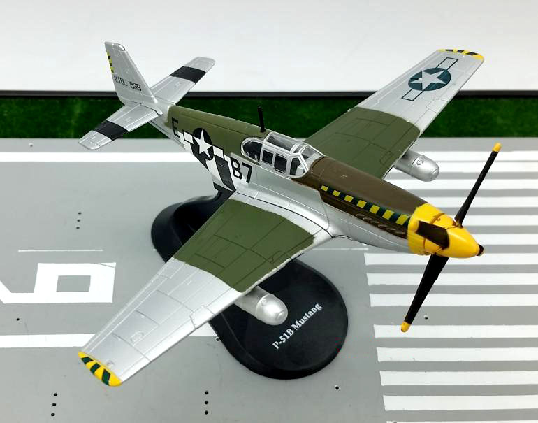 AMER 1:72 World War II American P-51B Mustang fighter model Alloy plane model Rare collection aircraft model стоимость