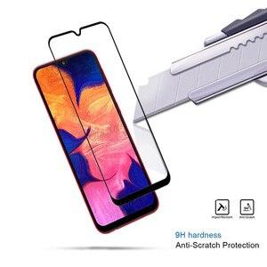 Image 4 - Beschermende Glas Voor Samsung A10 Screen Protector Op De Voor Samsung Galaxy A10 S A01 Gehard Glas Een 10 A105F display Film 9 H