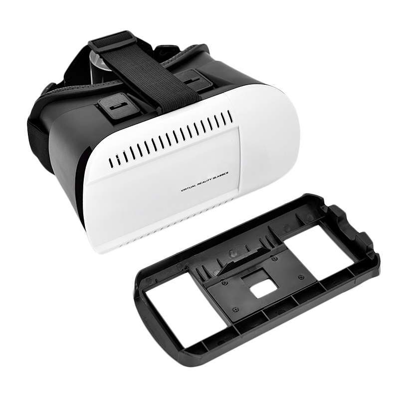 VR 1.0 Version Google Cardboard Virtual Reality Headset 3D Glasses + Bluetooth Wireless Remote Controller