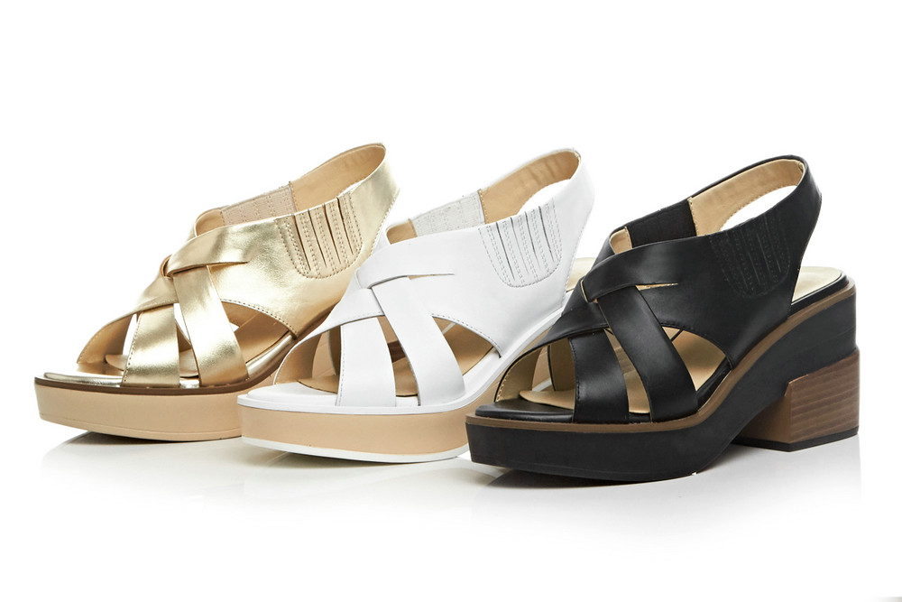Black Or Véritable D'été Sandales Haute white Gladiateur Femmes Casual Chaussures Cuir Noir gold Femme Talons Dames Style Aiweiyi En qAXFwwa