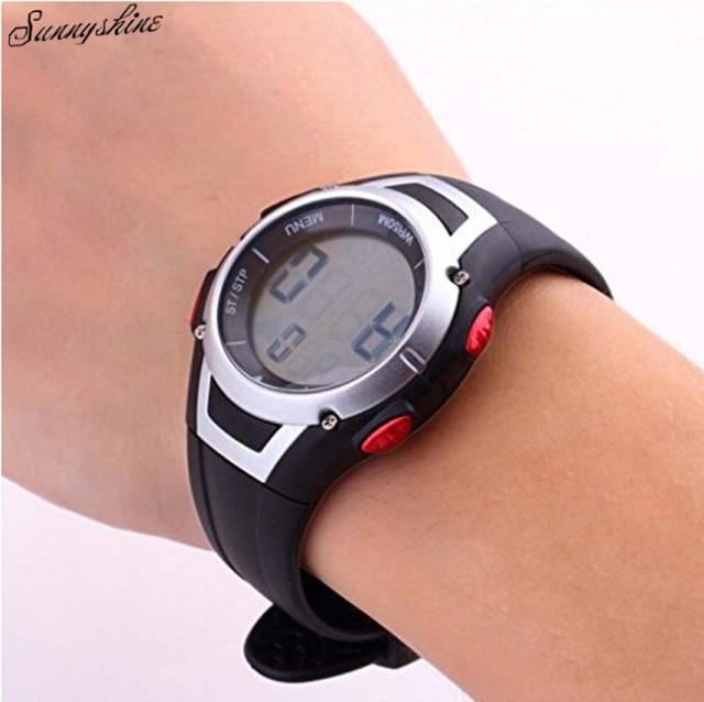 30 М Водонепроницаемый Женщины мужчины Часы Heart Rate Monitor Беспроводной Нагрудный Спортивные Часы Оптовая
