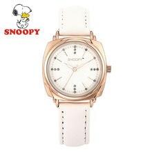 2017 Snoopy Kids Reloj Niños Reloj Relojes de pulsera de Cuarzo de Moda Casual Lindo Girls Impermeable Reloj