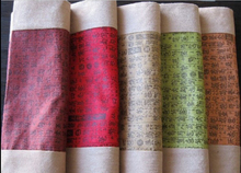 Guqin table runner guqin table cloth table mat suede fabric table runner 5-color