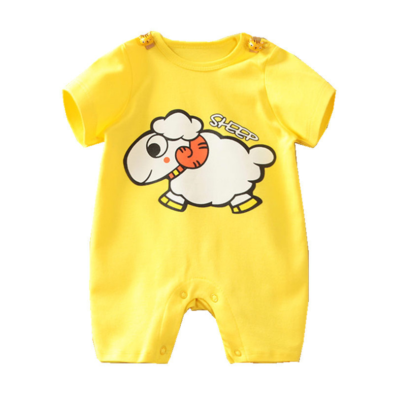 Baby Overalls Summer Girl Clothing Baby Overalls New Baby Romper Babyboy Girl New Born Baby Clothes Short Sleeve Clothes