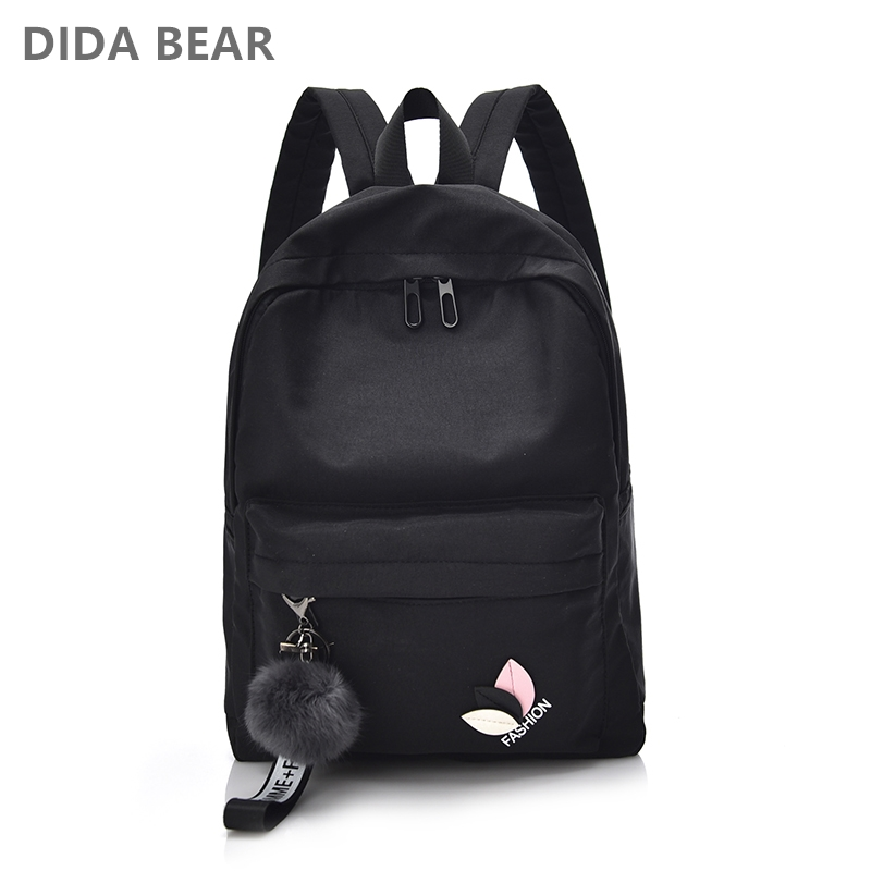 Women Waterproof Nylon Backpacks Female Rucksack School Backpack For Teenage Girls Fashion Travel Bag Bolsas Mochilas Sac A Dos