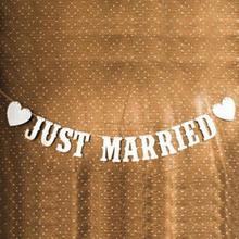 Романтические элегантные свадебные украшения, винтажные свадебные принадлежности, баннеры, фотобудка, реквизит, гирлянда
