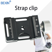 New Arrival Aluminium Quick Release Clamp With 3 Strap Buckles Compatible with ARCA-SWISS Plate for SLR Camera