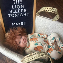 TinyPeople Baby Romper cute lion Print onesie Cotton spring Newborn Boys Girls Clothes Infant Clothing Long Sleeve Jumpsuit