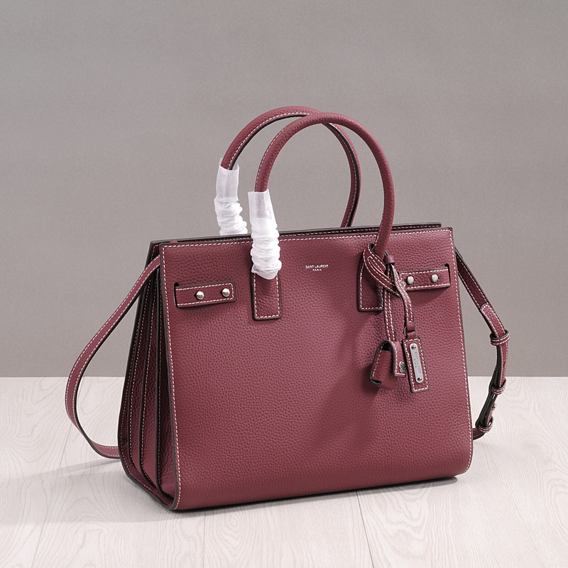 PRAVESDA new women fashion genuine leather handbags big casual tote bags lady shoulder classic messenger bags 2017 new classic casual patchwork large tote lady split leather handbags popular women fashion shoulder bags bolsas qn029 page 3