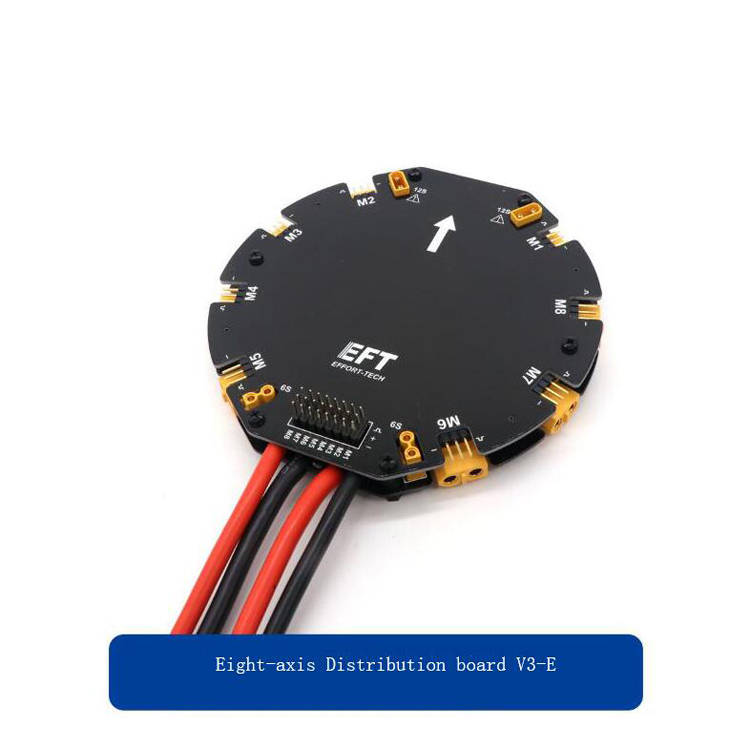 Eight-axis Distribution Board Power Distribution Module Power Signal Integrated Board Backward for Agricultural/Eight-axis Drone mukhzeer mohamad shahimin and kang nan khor integrated waveguide for biosensor application