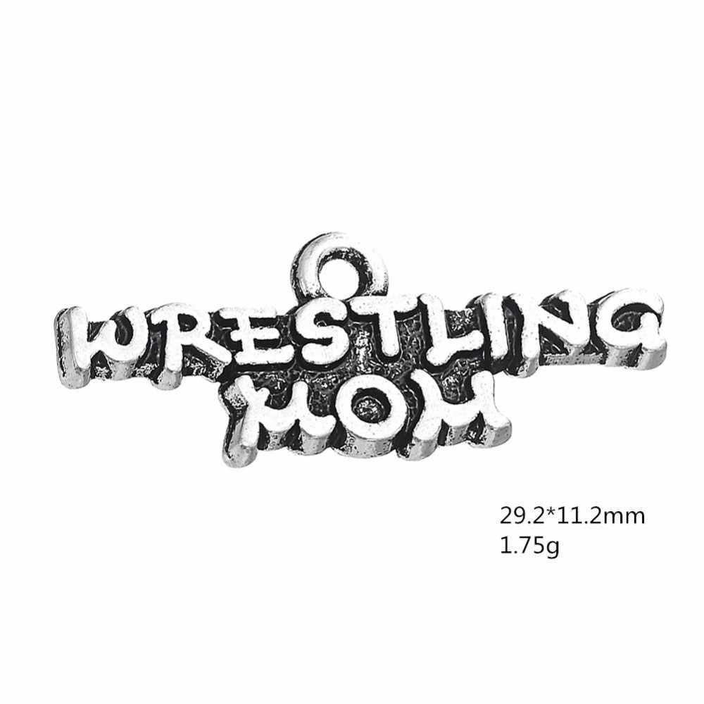 Борьба мама Спортивная подвески для браслетов