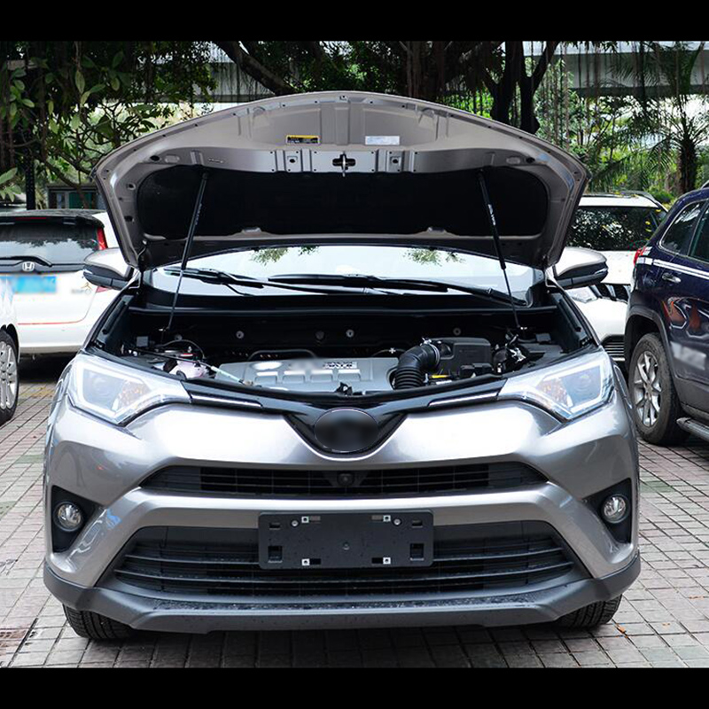 Car accessories Fit for RAV4 2016 2017 2018 2019 year Automotive hood hydraulic support bar car styling|style 2016|styling car|styling accessories - title=
