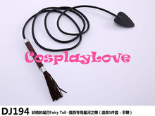 Hoge Kwaliteit Stock Japanse Anime Fairy Tail Lucy Heartfilia Lederen Ster Whip Cosplay Accessoire Cosplay Wapens