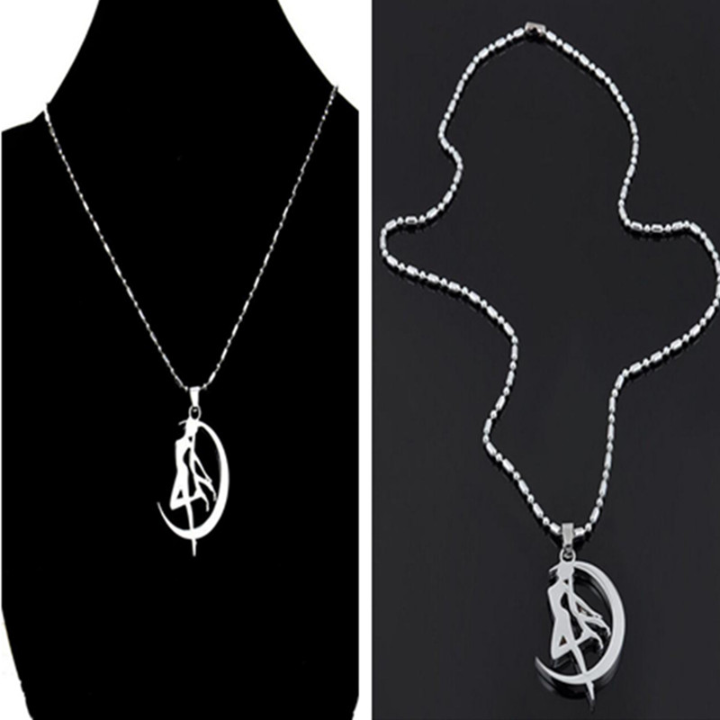 Velishy Sailor Moon Crystal Pendant Necklace font b Anime b font Peripheral Sailor Moon Necklace Vintage
