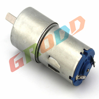 SW370 DC Gear Motor GA25 Miniature DC Motors Low Speed Of Electric Motors Used In 6V18RPM