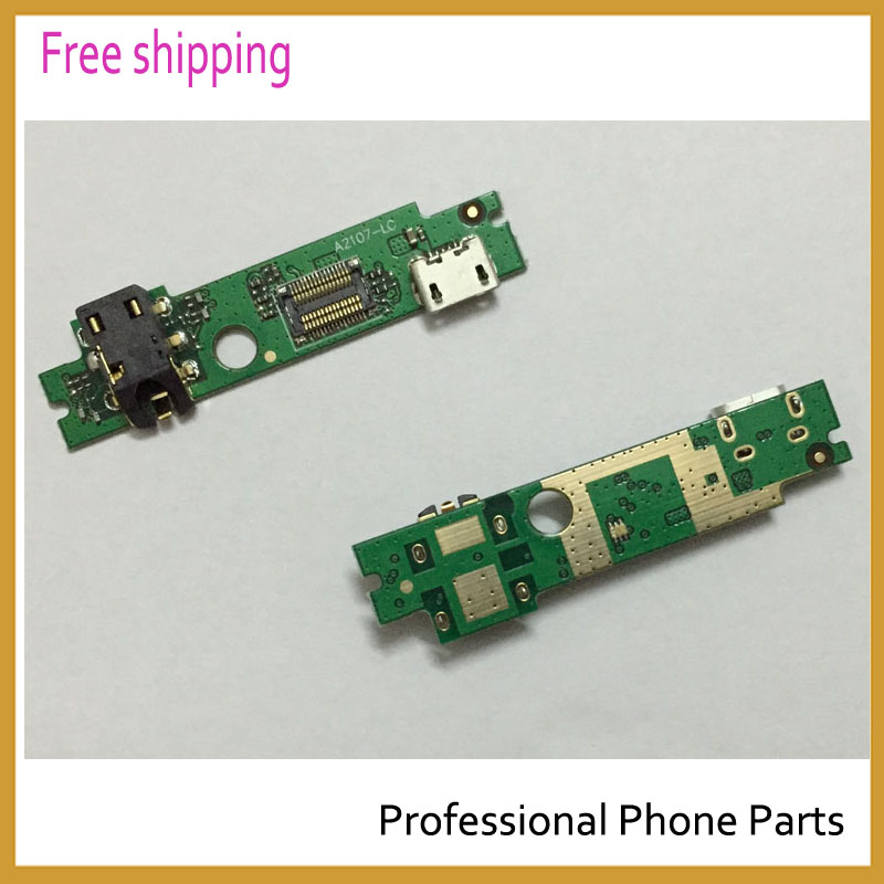 Original For Lenovo A2107 A2207 Micro USB Charging Dock SUB PCB A2-USBPCB-H301 USB Charging Port Flex Cable Replacement Parts