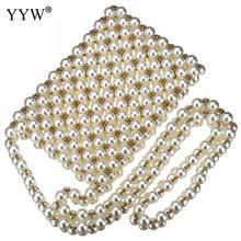 Luxe Pearl Flap Handtassen Ontwerp 2018 Mini Lady Portemonnees Clutch Telefoon Schouder Cross Body Bag Hollow Weave Zomer Avondtasje