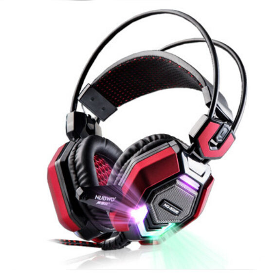 Kõrgeima kvaliteediga Stereo LED Shinning Gaming kõrvaklapid - Kaasaskantav audio ja video - Foto 1