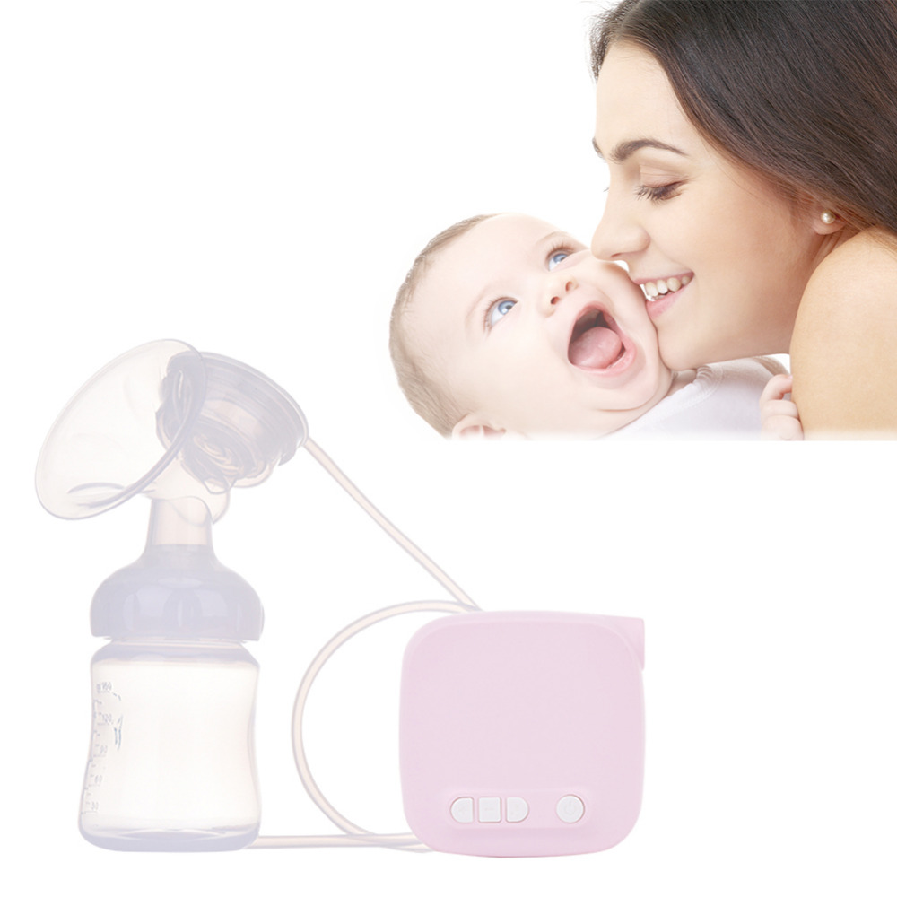 Mute Super Suction Electric Breast Pump Automatic Milk Suction Breast Massager Care Portable Automatic Electric Breast Pump automatic electric breast pump lcd display portable silent milk pump breast feeding electric breast pump accessories yellow