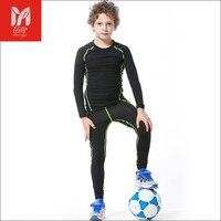 14 Kids Children Autumn Training Jogging Football Kits Jerseys Suit Boys Maillot De Foot Survetement Soccer