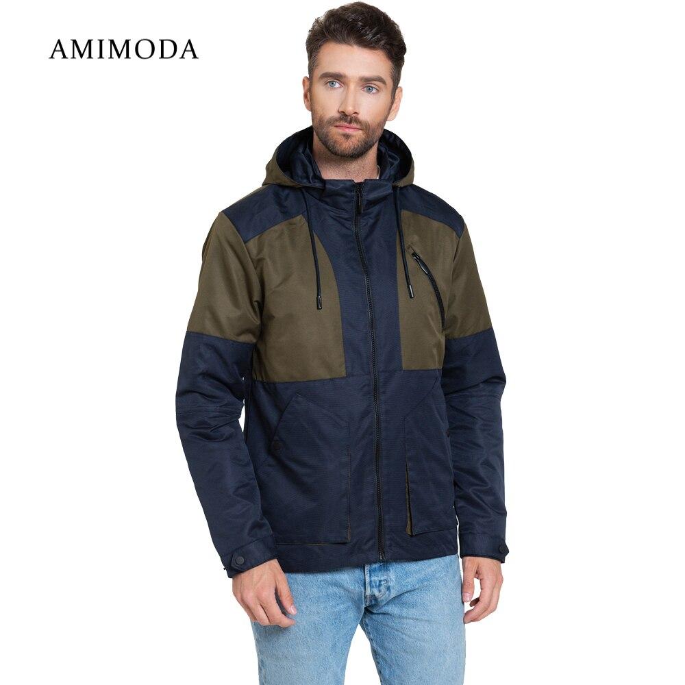 Jackets Amimoda 10016-0204 Men\'s Clothing windbreakers for men  cloak jacket coat parkas hooded duhan men s motorcycle jacket moto windproof racing jacket clothing защитное снаряжение с пятью защитными гвардейскими мотоциклетн