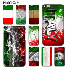 MaiYaCa Italy flag Protective soft tpu Mobile Phone Case for Apple