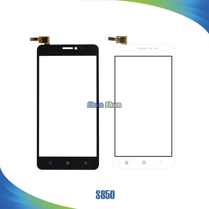 10pcs/lot S850 Touch Screen for Lenovo S850 Touch Screen Digitizer Sensor Front Glass Le ...