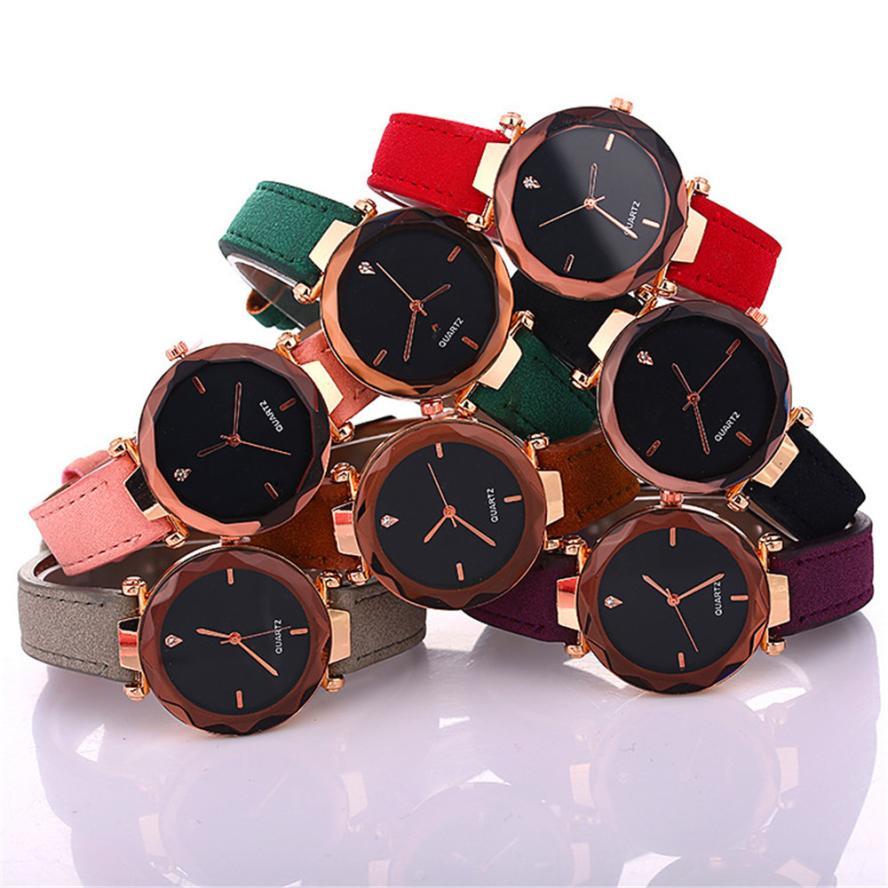 Top Brand Luxury Womens Ladies Watch Rhombus Quartz Watch students Wrist Watch For Womens Girls Montre Femme Women Watches  40#