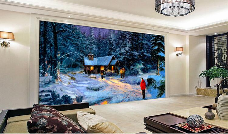 D behang custom muurschildering non woven d kamer muursticker