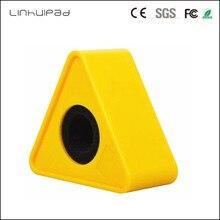 Linhuipad entretien triangulaire micro Microphone personnaliser LOGO drapeau Station bâton étiquettes 41mm trou ABS moulage par Injection