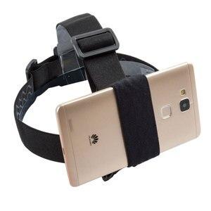 Image 2 - Soporte Universal de succión para teléfono, correa de arnés de pecho, soporte de montaje para teléfono, correa para cabeza/muñeca, monopié para iPhone, Huawei, Samsung