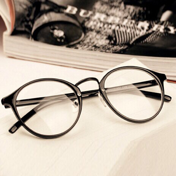 Men's Eyewear Frames Frugal *mens Womens Nerd Glasses Clear Lens Eyewear Unisex Retro Eyeglasses Spectacles S72* Agreeable To Taste Men's Glasses