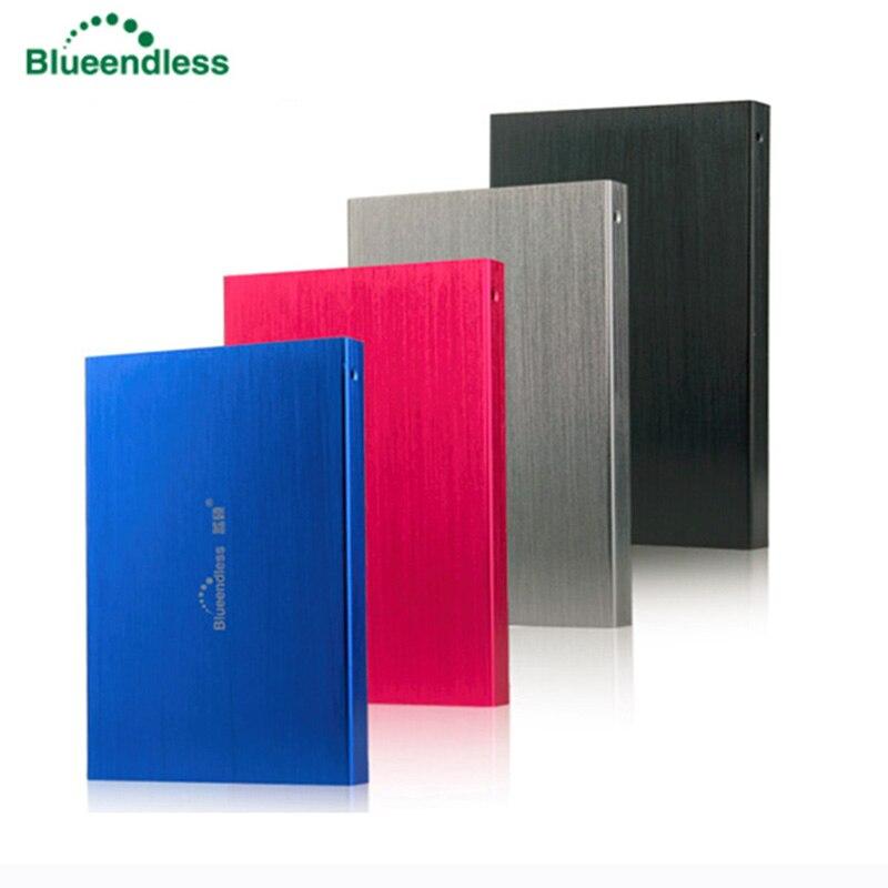 Blueendless External Hard Drive Hard Disk Disco Duro Externo Harici HDD 2.5 USB 2.0