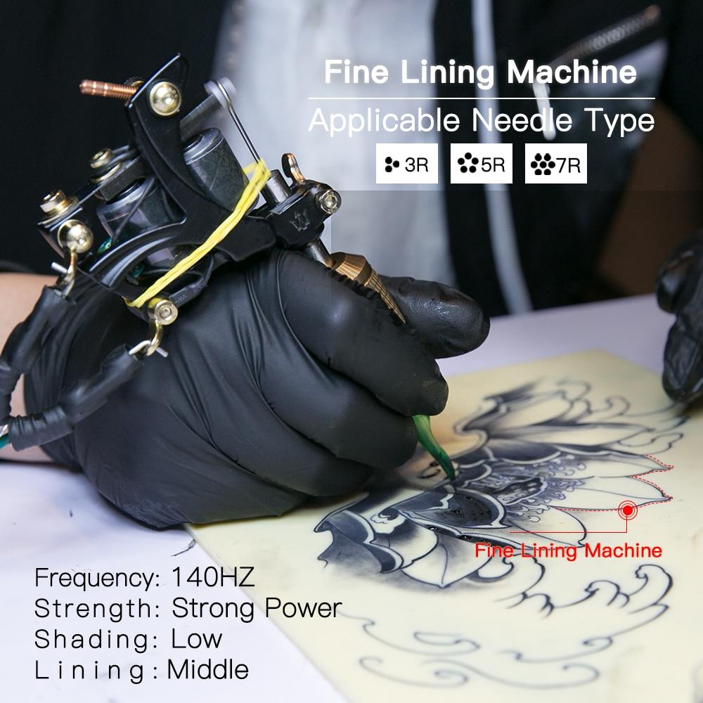 Tattoo stroj Bakrene zavojnice Vrhunska kvaliteta lijevanja Klasični - Tetovaže i tjelesna umjetnost - Foto 4
