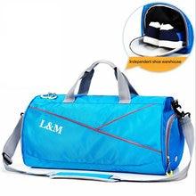 Sport bag for swimming oxford waterproof dry suit wet separate pool fitness crossbody bags