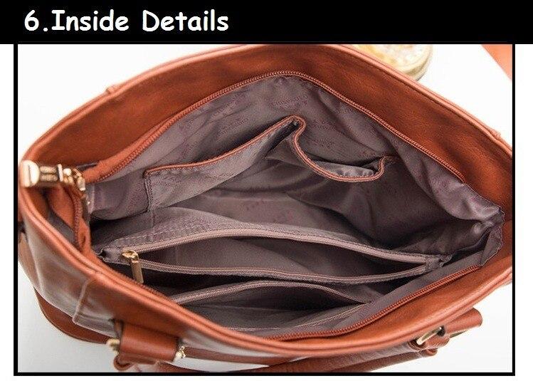 Moda qadınların orijinal dəri çantaları patentli lüks marka - Çantalar - Fotoqrafiya 6